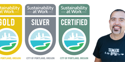 An image showing the certification badges