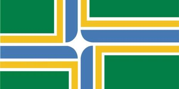Image of the Portland City Flag