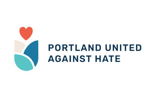 A picture of the Portland United Against Hate Logo