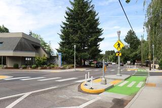 Halsey-Weidler Streetscape completion 3
