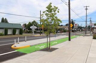Halsey-Weidler Streetscape completion 2