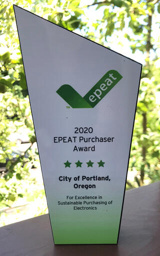 Photo of EPEAT Purchaser Award