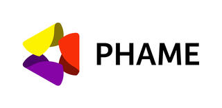Red, yellow, and purple logo with the name PHAME