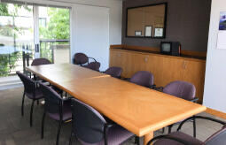 Image of heliport conference room