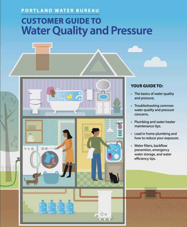 Customer Guild to Water Quality and Pressure Cover