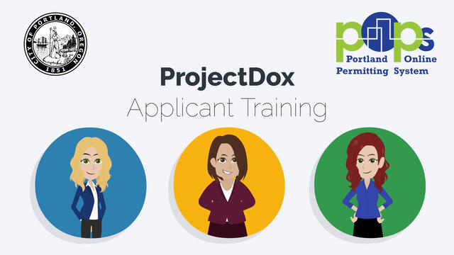 Cover image for the ProjectDox Applicant Training Videos