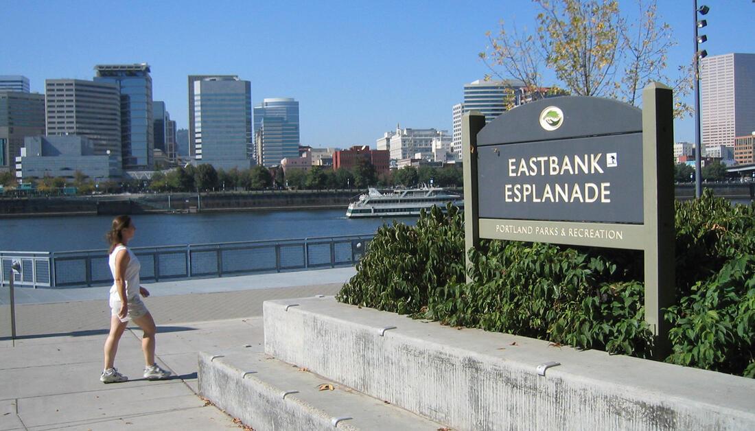 Eastbank Esplanade   Portland.gov