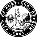 City of Portland, Oregon. 1851